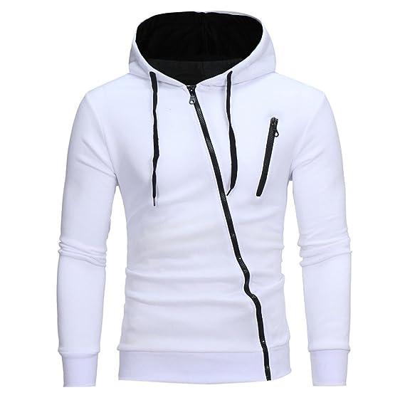 Btruely Herren Sudadera con Capucha Hombre Invierno Abrigos Casual Outerwear con Bolsillos Camisetas de Manga Larga