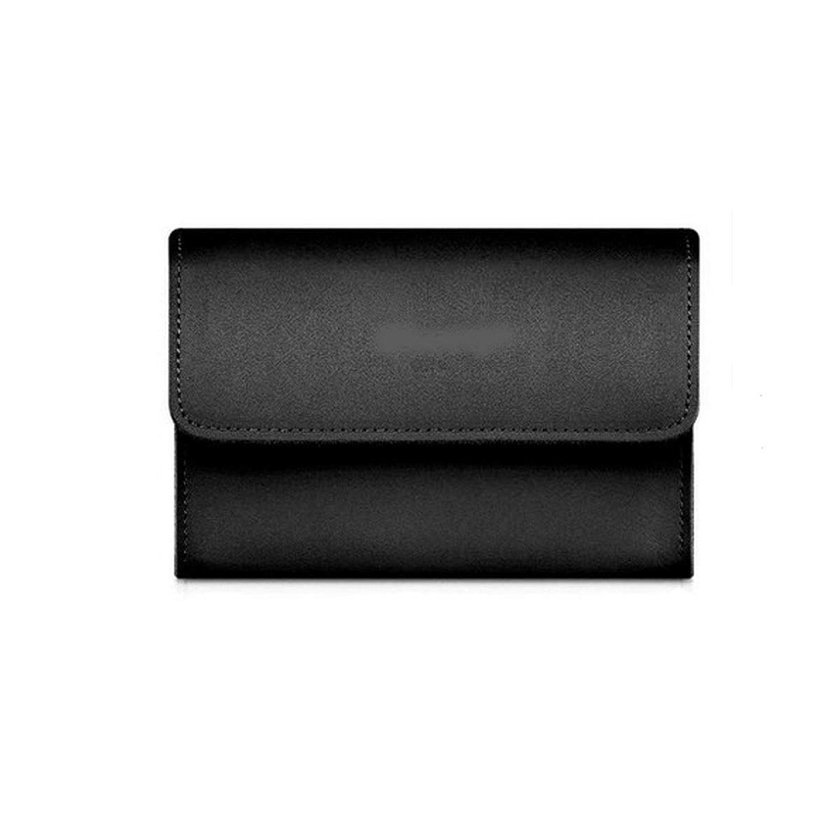 Jinnuotong Electronic Organizer,Cable Organizer,Accessories Organizer, Notebook Power Pack, Power Bag, Leather Storage Bag, Computer Accessories Bag,Accessory Storage, Portable and Durable Portable