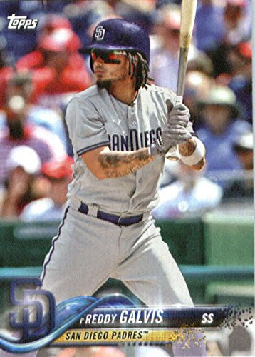 (2018 Topps Factory Team Sets San Diego Padres #SP-14 Freddy Galvis San Diego Padres Baseball Card)