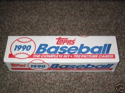 Amazoncom 1990 Topps Mlb Baseball Cards Complete Factory Set 792