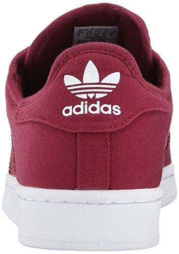 Adidas Originals Menns Super Festival Pakke Livsstil Basketball-stil Sneaker Kollegialt Burgunder / Kardinal / Løper Hvit