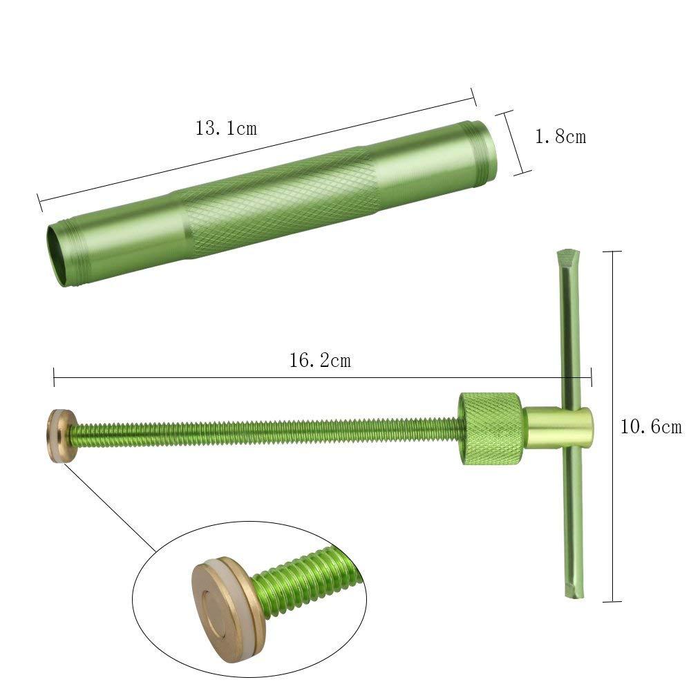 Vicloon Extrudeuse en P/âte en Acier Inoxydable avec 20 Disques dextrusion pour G/âteau Sucre Objets dart