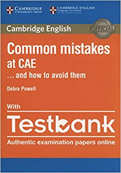 Book Common Mistakes at CAE... and How to Avoid Them with Testbank
