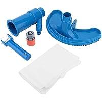 2 Unids V Cabeza Manija Azul Piscina Forma de V Clip de Cabeza de Cepillo Mango Reemplazo Accesorios de la Piscina