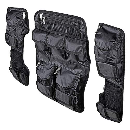 (Saddlebag Tour Pak Pack Lid Organizer Set Compatible with Harley Ultra Classic King/Chopped FLT FLHT-Style)