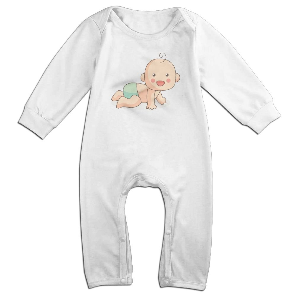 Baby Baby Boy Kids Warm Infant Long Sleeve Romper Jumpsuit Clothes Outfit