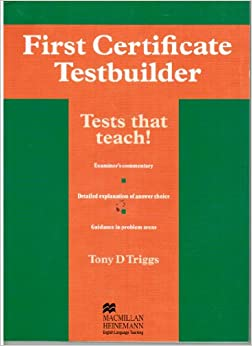 Book First Certificate Testbuilder: Without Key