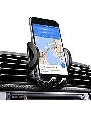Soporte Movil Coche, iAmotus Universal 360° RotaciónSoporte de Smartphone para Rejillas de Ventilacion de Coche para iPhone X 8 7 6 6s Plus 5 5s SE, Samsung Galaxy S9 S8, LG, HTC y GPS Dispositivo