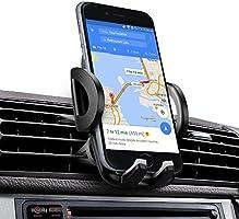 iAmotus Supporto Auto Smartphone Porta Cellulare, Supporto da Auto Universale  360 Gradi di Rotazione per iPhone X 8 7 6S 6 Plus 5 5s / Samsung galaxy s8 S7 edge S6/ Huawei / Sony/ LG/ Xiaomi/ GPS ecc