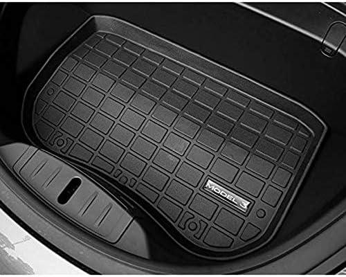 TOOGOO Car Rear Trunk Cargo Mat Tray Floor Boot Carpet for Tesla Model 3 2017-2019
