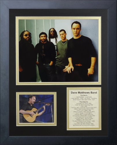 Legends Never Die Dave Matthews Band Framed Photo Collage, 11x14-Inch by Legends Never Die