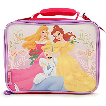 4a1374783fe Image Unavailable. Image not available for. Color  Disney Princess Thermos Insulated  Lunch Bag