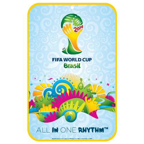World Cup Soccer 2014 FIFA 11x17-Inch Sign