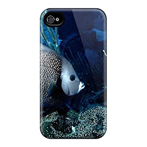 DGENDS Pretty Animals Fish Case Cover Iphone 4/4s Series High Quality Case