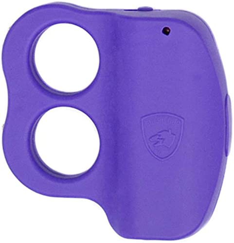 Guard Dog Stun Gun for self Defense with LED Flashlight – Purple