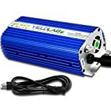 Yield Lab Horticulture 400w Dimmable Digital Ballast for HPS MH Grow Light