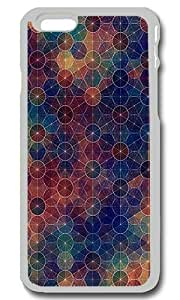Abstract Circles Pattern Personalized Custom iPhone 6 Case Cover - PC Transparent