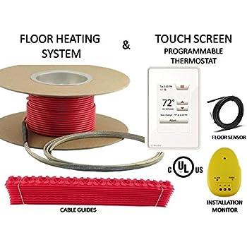 40 Sqft Heattech 120v Electric Tile Radiant Floor Heating