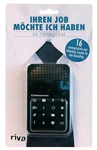riva Verlag Ihren Job möchte Ich Haben – die Chefmaschine 9783742303967 Non Books Non-Books Nonbooks