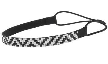 Amazon.com   AimTrend Thin Fashion Casual Headbands with Elastic back-Zebra    Beauty cdfc6496359