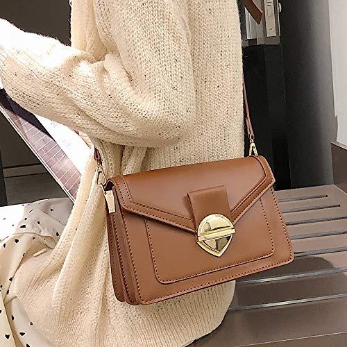 Fashion Bandoulière Petit Carré Sac Marron Femelle Xmy À Rétro Sauvage Messenger pO0ZX8
