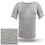Haubergeon Replica Chainmail Armor Long Shirt XL