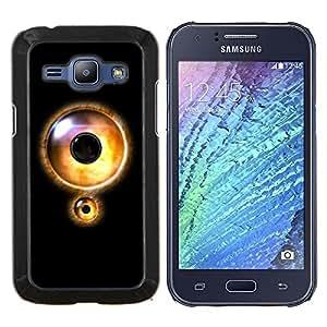 BearCase / Cubierta de protección Caso duro de la contraportada de Shell Plástico /// Samsung Galaxy J1 J100 /// Bloqueo de ojos