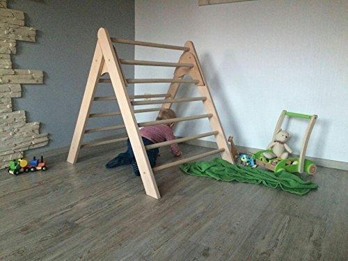 Kletterdreieck Klapperspecht : Kletterdreieck nach art pikler extragroß amazon handmade