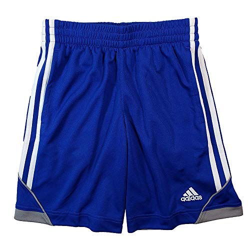 adidas Boys' Athletic Short (Large, Royal - Merchandise Mark Martin