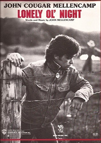John Mellencamp Merchandise (Lonely Ol' Night)