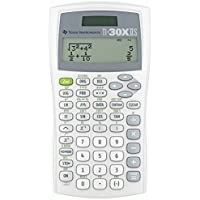 Texas Instruments TI30XIISWHITE 2-Line Scientific Calculator PackageQuantity: 1 Color: White, Model: TI30XIISWHITE, Electronic Store