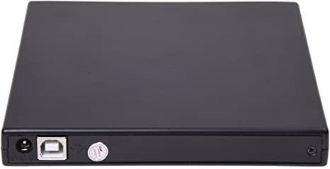 SODIAL (R) USB Caja externa para 12.7mm grabadora de CD / DVD Rom Laptop: Amazon.es: Electrónica
