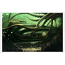 Submarine Underwater Painting Metal Plate Tin Sign Poster Wall Decor (20*30cm) By Jake Box