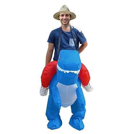 Deanyi - Disfraz Hinchable de Dinosaurio para Adulto ...