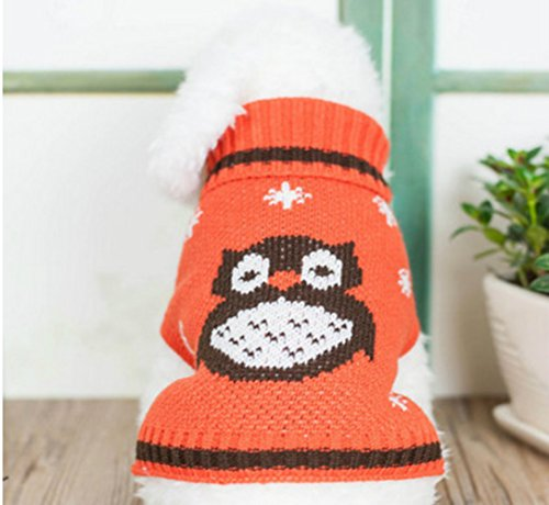 Clothes Sweatshirt For Dogs Wise Owl Dog Sweater Designer Small Dog Sweater S 10