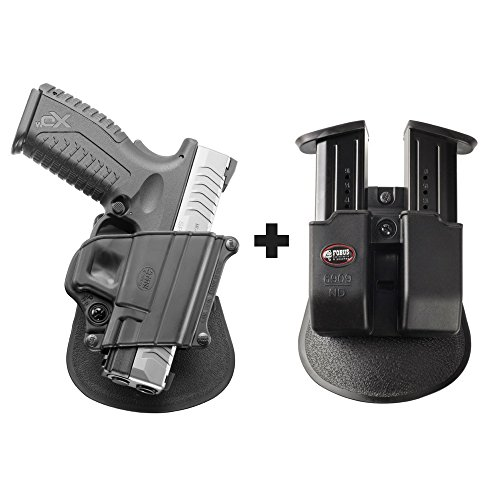 Fobus SP-11B Paddle Black Concealed Carry Holster Springf...