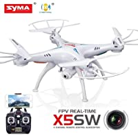 Syma #X5SWW Syma X5SW Explorers II FPV 2.4G RC Drone Quadcopter 2MP Wifi Camera RTF with 2 x Battery White
