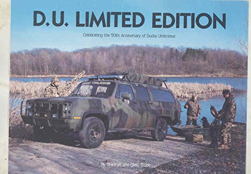 1986 GMC Ducks Unlimited 50th Anniversary Suburban Starcraft Ed. Brochure