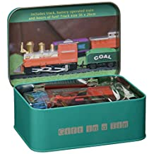 Battery Operated Train Set in a Tin
