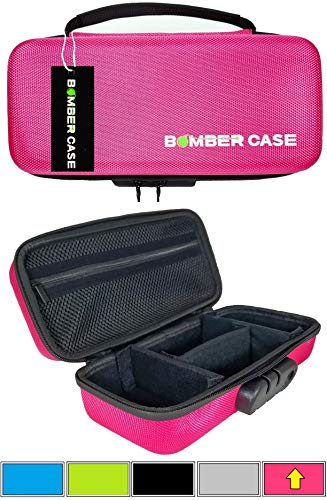 BOMBER CASE - Stash Case - Locking - Smell Proof - Customizable Padded Interior - Holds up to 9.5