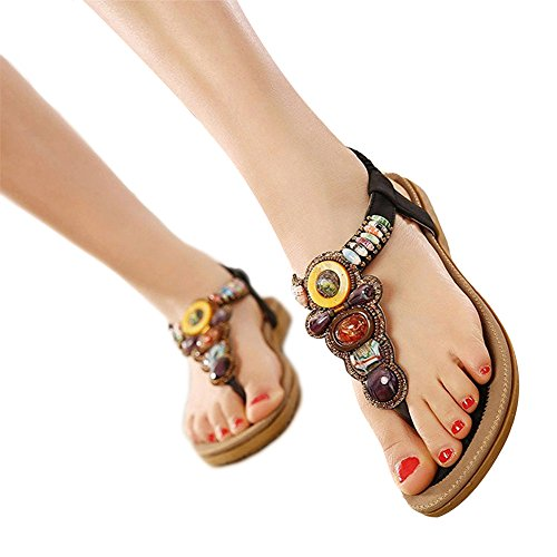 Sandals Tribangke sandalias Material de mujer Sintético dfwpBRq