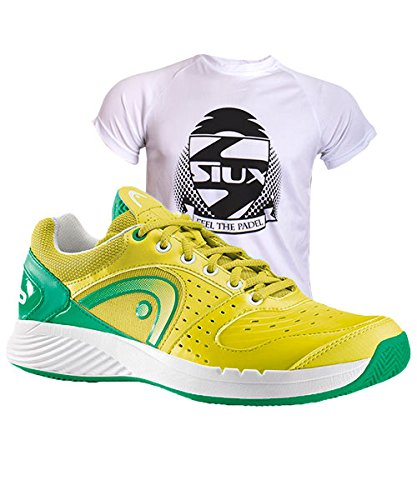 HEAD SPRINT TEAM CLAY UOMO LIME-VERDE-BIANCO