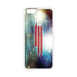 IPhone 6S Plus Cases Red Skrillex Logo, - [White] Bloomingbluerose