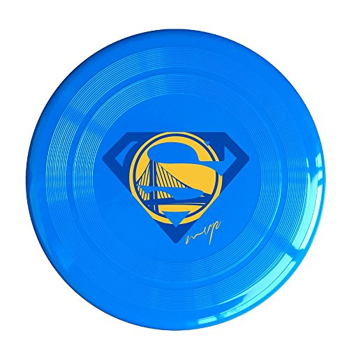 SYYFB Unisex Golden State Basketball Team Logo S Outdoor Game Frisbee Light Up Flying RoyalBlue