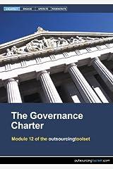 The Governance Charter (outsourcingtoolset, Module 12) CD-ROM