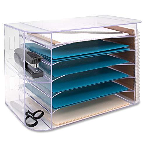Business Source 6-tray Jumbo Desk Sorter