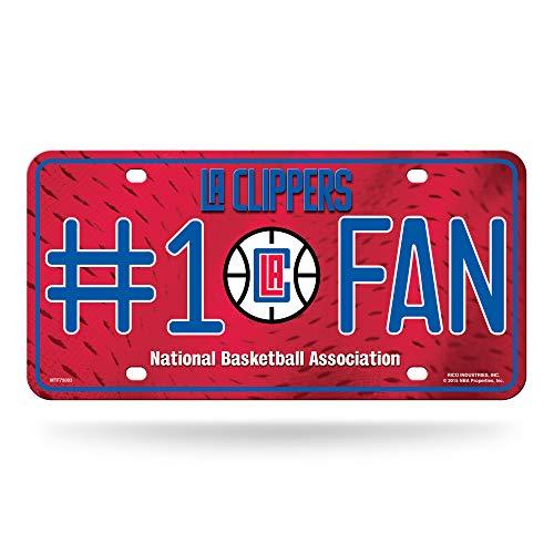 NBA Los Angeles Clippers #1 Fan Metal License Plate ()