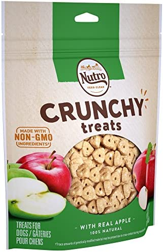 NUTRO Crunchy Treats Real Apple product image