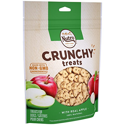 - NUTRO Crunchy Dog Treats with Real Apple, 16 oz. Bag