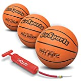 "GoSports 5"" Mini Basketball 3 Pack with Premium Pump - Perfect for Mini"